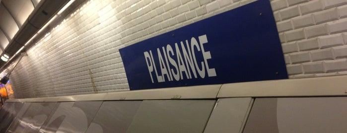 Métro Plaisance [13] is one of Loisirs.