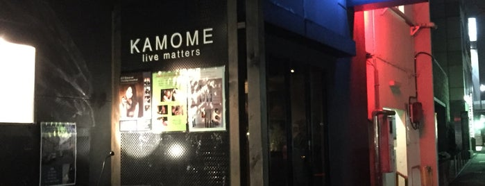 KAMOME live matters is one of ライブハウス.