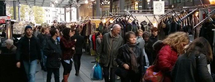 Spitalfields Arts Market is one of London musts.