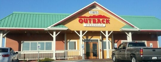 Outback Steakhouse is one of Kim's.