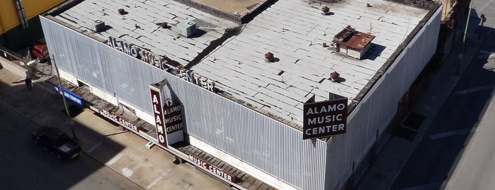 Alamo Music Center is one of Best Music Shops in San Antonio, TX.