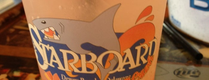 The Starboard is one of Wednesday bar crawl.