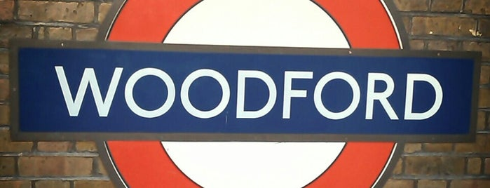 Woodford London Underground Station is one of Tube Challenge.
