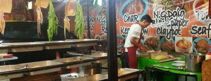 Char Kuey Tiaw Dataran Ipoh is one of Favorite Food.