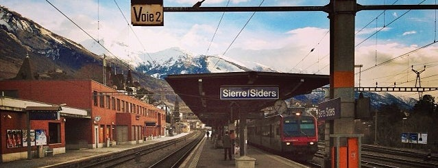 Gare de Sierre / Bahnhof Siders is one of Bahnhöfe.