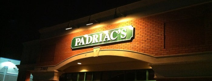 Padriac's is one of Dining Tips at Restaurant.com Atlanta Restaurants.