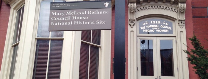 Mary McLeod Bethune House is one of National Parks.