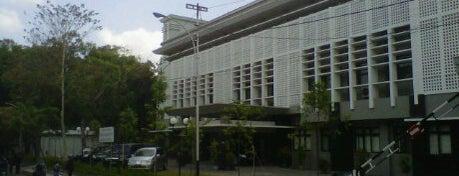 Fakultas Kehutanan is one of UGM.
