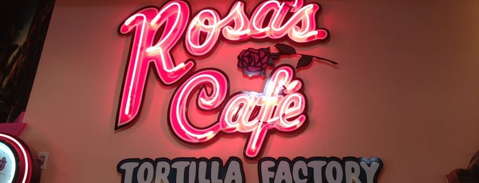 Rosa's Cafe & Tortilla Factory is one of Fave DFdub Grub.
