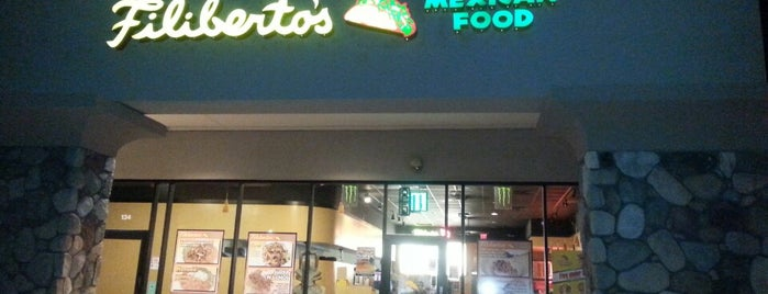 Filiberto's Mexican Food is one of PHX Latin Food in The Valley.