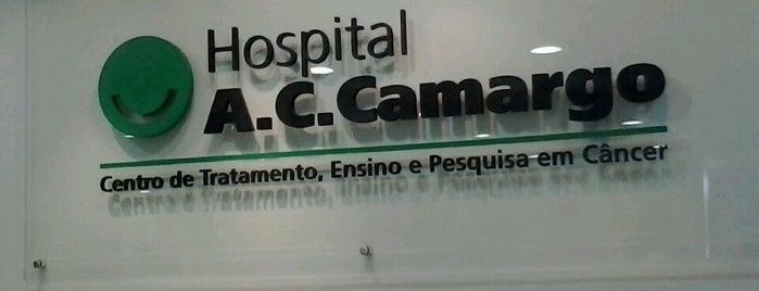 A.C.Camargo Cancer Center is one of Por onde eu passo.,,.