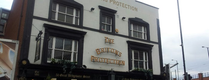 The Briton's Protection is one of Manchester alphabet pub crawl.