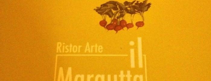 Il Margutta RistorArte is one of Vegan Eats in Rome.