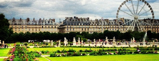 Tuileries Garden is one of All-time favorites in France.