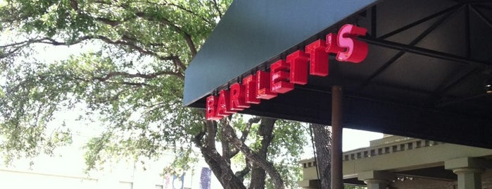 Bartlett's is one of Favorite best restaurants.