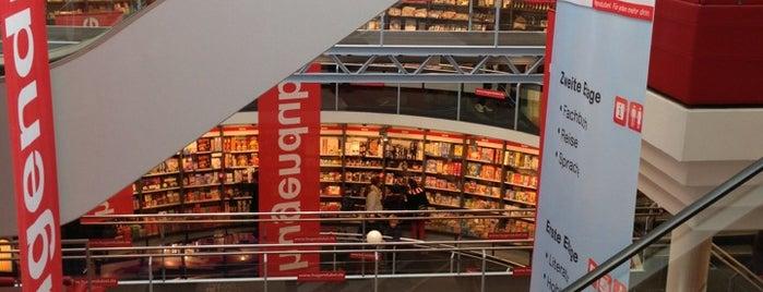 Hugendubel is one of Frankfurt for Non-Frankfurters.