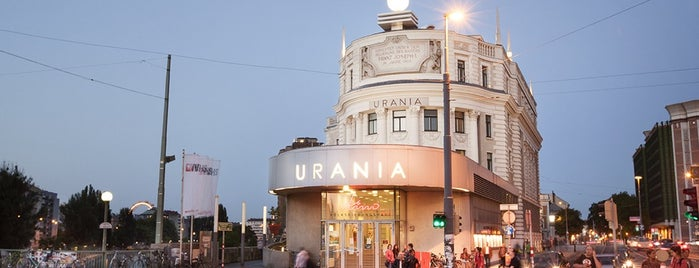 Urania Kino is one of Cineplexx Österreich.