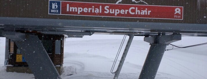 Imperial Express SuperChair is one of Secret Stashes at Breck.