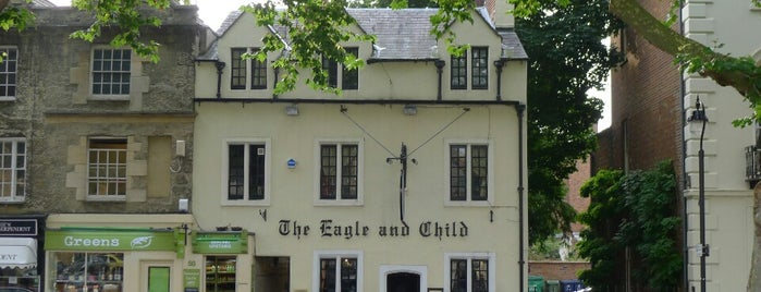 The Eagle & Child is one of Pubs of Oxford.