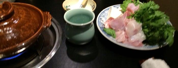Fukuji is one of Michelin Guide Tokyo (ミシュラン東京) 2012 [***&**].