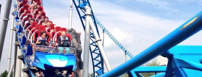 blue fire Megacoaster is one of Urlaub.