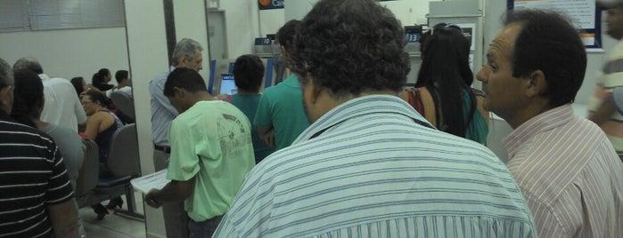 Caixa Econômica Federal is one of urgentes.