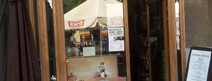 Baobab Cafe is one of Top 10 dinner spots in Warszawa, Polska.