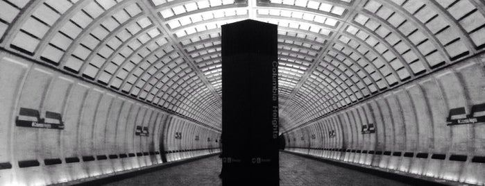 Columbia Heights Metro Station is one of Favs.