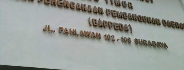 BAPPEDA Provinsi Jawa Timur is one of jane.
