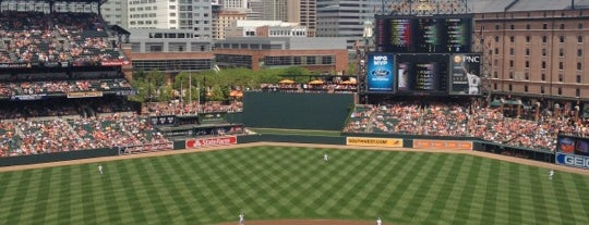 Oriole Park at Camden Yards is one of 2 do list # 2.