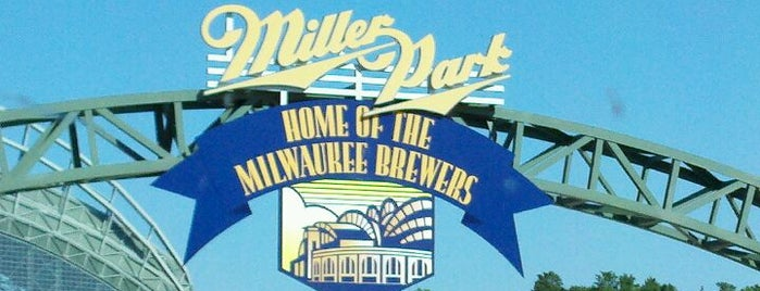 Miller Park is one of Sport Staduim.