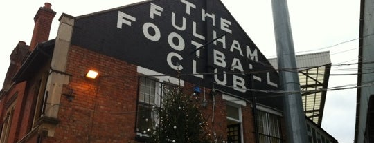 Craven Cottage is one of Football grounds visited.
