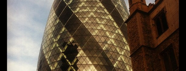 30 St Mary Axe (The Gherkin) is one of My United Kingdom Trip'09.