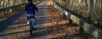 Minuteman Commuter Bikeway is one of Boston Nature.