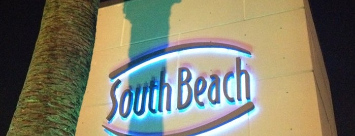 South Beach is one of Favorite Nightlife Spots.
