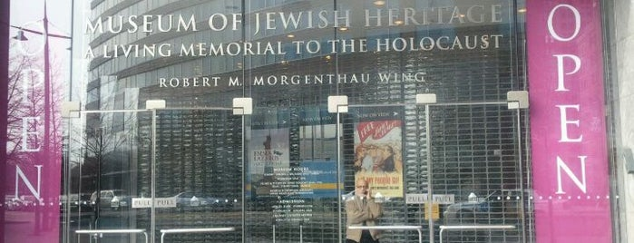 Museum of Jewish Heritage is one of NYC Museums.