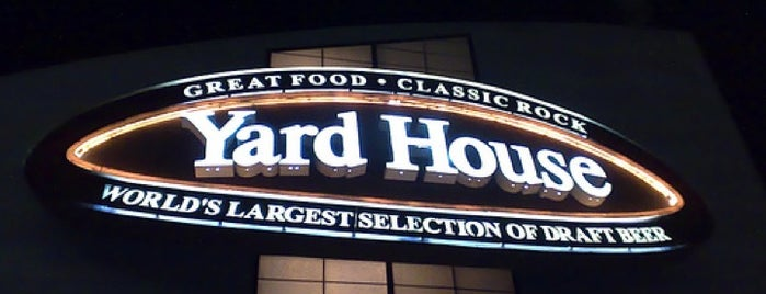 Yard House is one of Places I've been or go to..