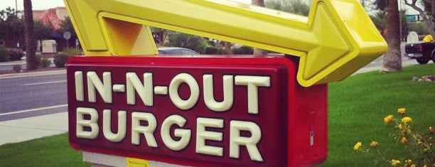 In-N-Out Burger is one of The best spots in Goodyear/Avondale, AZ! #visitUS.
