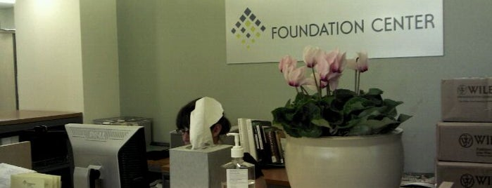 The Foundation Center is one of Foundation Center Offices.