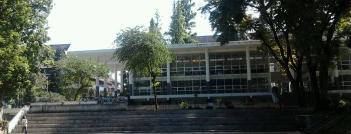 Institut Teknologi Bandung (ITB) is one of Must-visit Universities in Bandung.