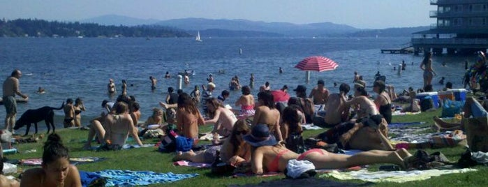 Madison Park Beach is one of Must-have Experiences in Seattle.