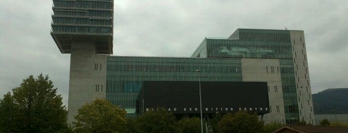 BEC Bilbao Exhibition Centre is one of let's get Bilbao's badge (Spain) #4sqCities.