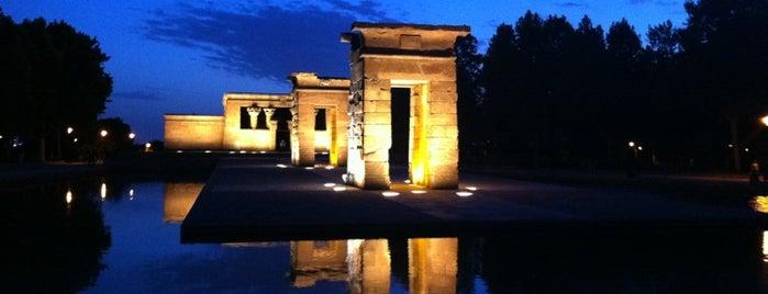 Templo de Debod is one of @ Madrid (MD, España).