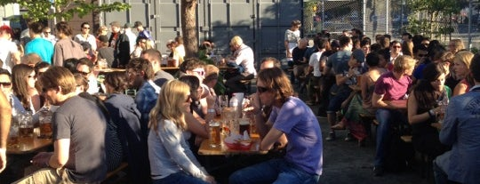 Biergarten is one of SF to-do.