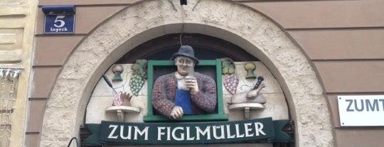 Figlmüller is one of My Wien.