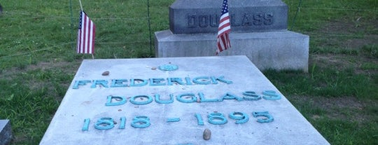 Frederick Douglass Grave is one of RIT Bucket List.