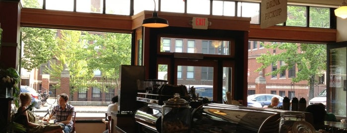Coffee shops in Boston & Cambridge