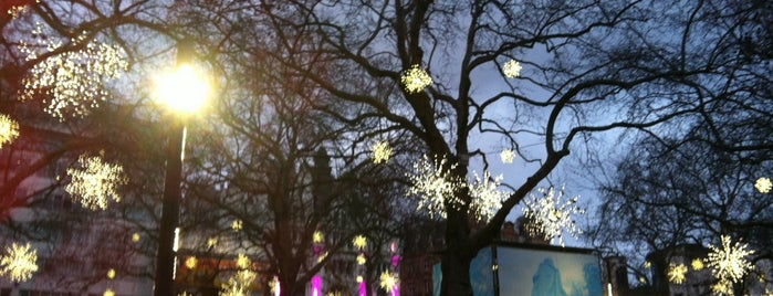 Leicester Square is one of 36 hours in...London.