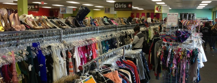 Plato's Closet is one of Great Places to Find Gently Used Good.