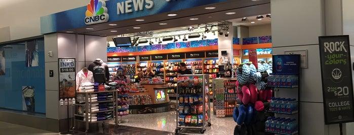 CNBC News is one of Cincinnati Airport.